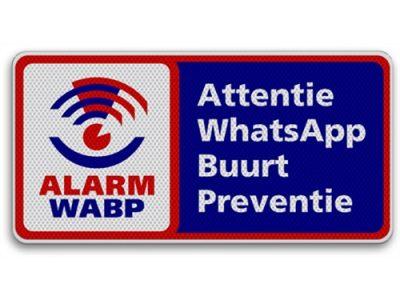 WhatsApp Buurt Preventie borden