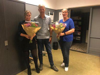 Afscheid van bestuursleden Anne-Linde en Judith